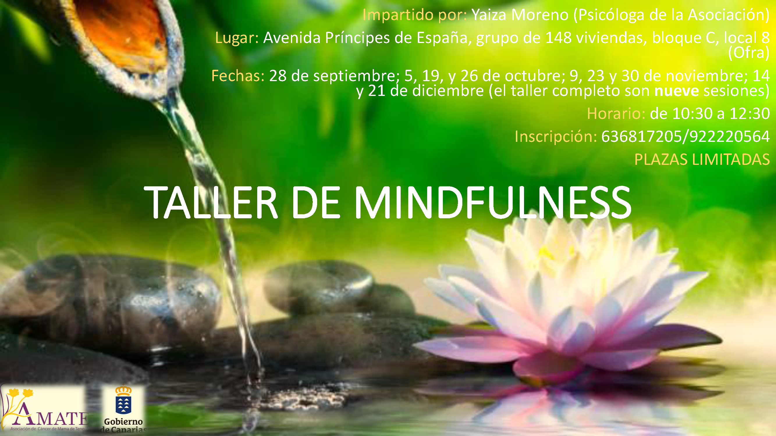 cartel mindfulness sept-dic 2018