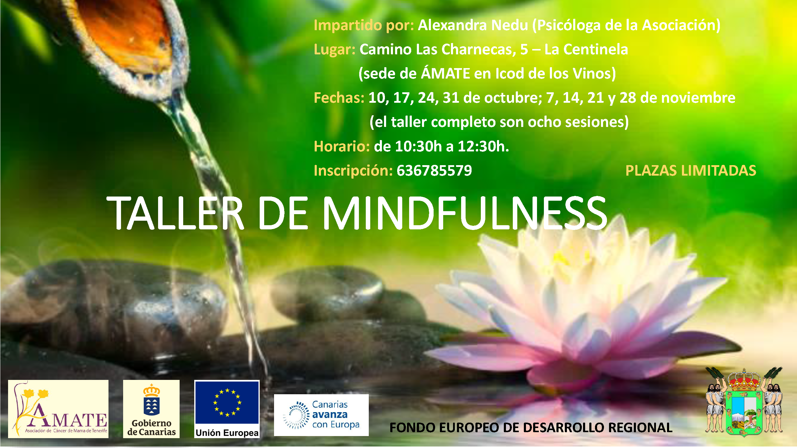 TALLER DE MINDFULNESS ICOD Oct-Nov.