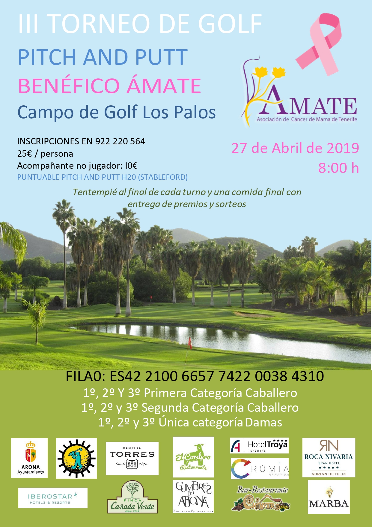 Cartel Golf 2019